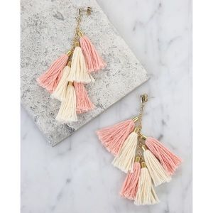✨NWT • Ettika Daydreamer tassel earrings